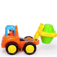 רכבי הנדסה שמחים - (Happy Engineering Vehicles Assorted (4 Pcs