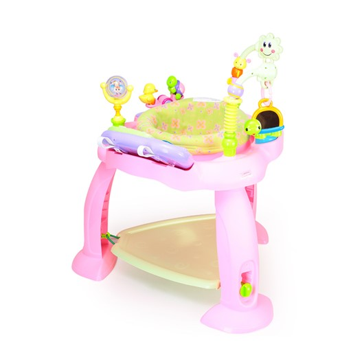 כסא קופץ לתינוק רב תכליתי - Multifunctional Baby Bounce Chair With Electronic Light - צבעוני Colorful